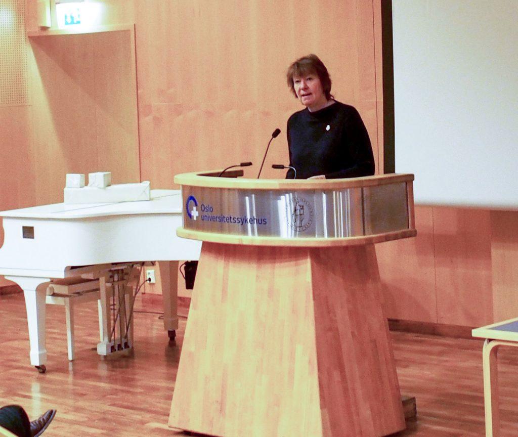 Åpning ved Oslo ordfører Marianne Borgen.