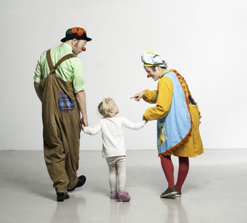 Tre av hovedingrediensene isykehusklovnenes tilnærming til mennesker er: Ærlighet, varme og lekenhet.  Foto: Ida Brekke