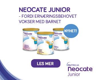 Neocate junior Sidebanner for mobil