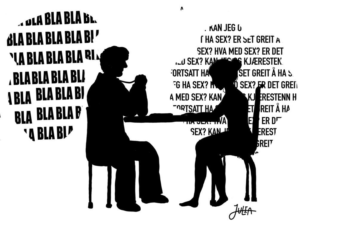 Kjæresten til seksuelle spørsmål Gode spørsmÃ¥l