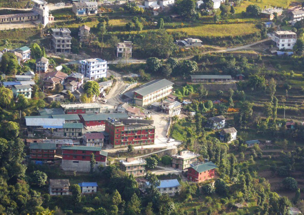 Sykehuset med sykepleierskolen. Nov. 2018.