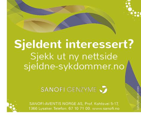 Sanofi – sjeldne-sykdommer.no