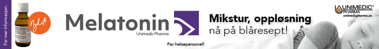 Unimedic – MELATONIN – toppbanner